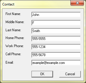 manage new contact