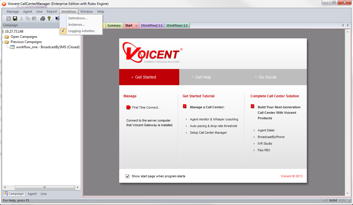 Voicent CallCenterManager