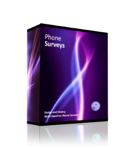 Automated phone survey software