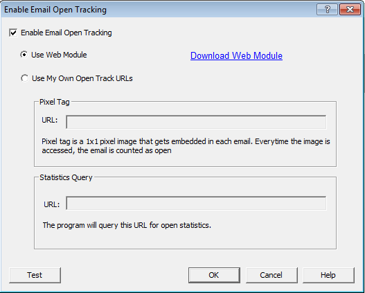 enable open tracking