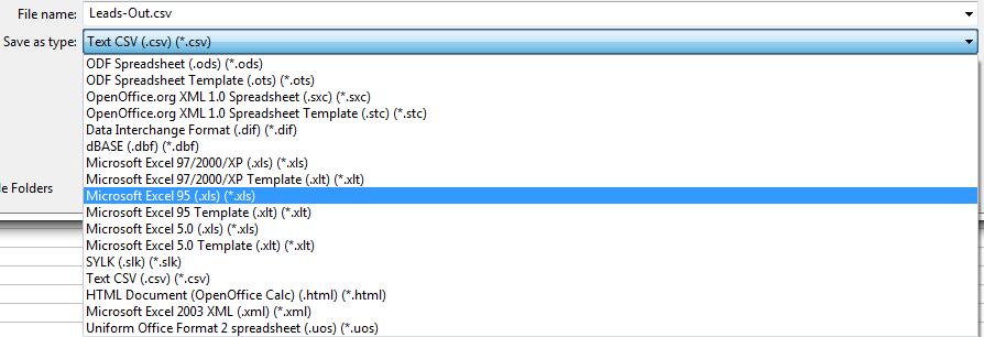 Auto Dialer Converting Csv To Excel File Autodialer