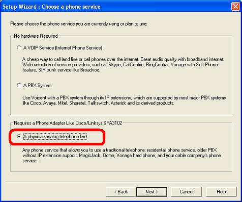 How to Setup Voicent Software with Analog Phone Lines