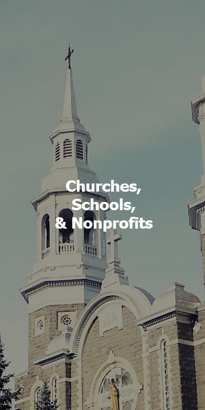 Churches, Nonprofits, and schools use Voicent
